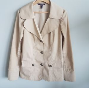 Long Tall Sally Tailored Cotton Jacket Size 8